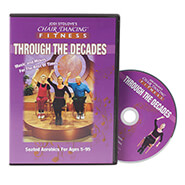 Exercise & Fitness - Chair Dancing® Fitness Through the Decades DVD