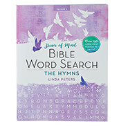 Hobbies & Books - Peace of Mind Bible Word Search: The Hymns