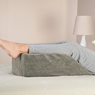 Cushions & Chair Pads - Plush Leg Lift Wedge Cover by LivingSURE™