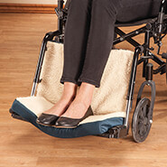 Wheelchairs & Accessories - Wheelchair Foot & Calf Cushion