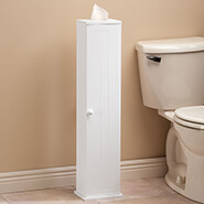 Bathroom Accessories - Ambrose Collection Mega Roll Toilet Tissue Tower by OakRidge