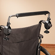 Wheelchairs & Accessories - EasyPushbar™ Wheelchair Handle