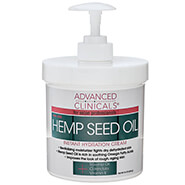 Pain Remedies - Advanced Clinicals® Hemp Seed Oil Instant Hydration Cream