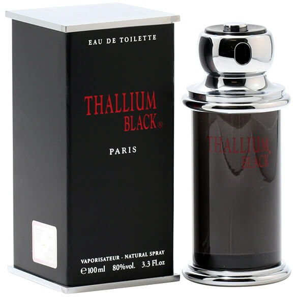 Jacques Evard Thallium Black for Men EDT, 3.3 oz.