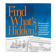 "New - ""Find What's Hidden!"" Puzzle Book"