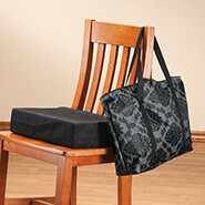 Auto & Travel - Portable Cushion in a Tote