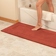 New - Memory Foam Straight Border Rug
