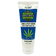Pain Remedies - Uncle Bud's Hand & Foot Cream with Pure Hemp Seed Oil