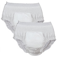 Incontinence - Wellness Absorbent Underwear Trial Pack (2-Pack)