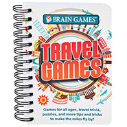 New - Brain Games® Travel Games Book