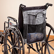 Wheelchairs & Accessories - Wheelchair Deep Bag with Pockets