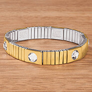 New - Reversible Magnetic Stretch Bracelet