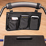 Walkers & Rollators - Wheelchair and Walker Arm Pouch