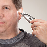 New - Lighted Nose and Ear Hair Trimmer