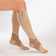 New - Zip Zap Arch Support Compression Socks