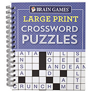 New - Brain Games® Large Print Crossword Puzzles