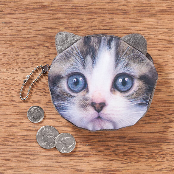 Cat Coin Purses - View 1