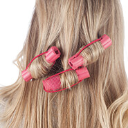 New - No-Pin Foam Curlers, Set of 12