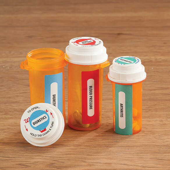 Medicine Bottle Labels, Set of 120 - View 1