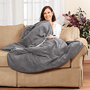 Home Comforts - OakRidge™ Micro Plush Heated Throw