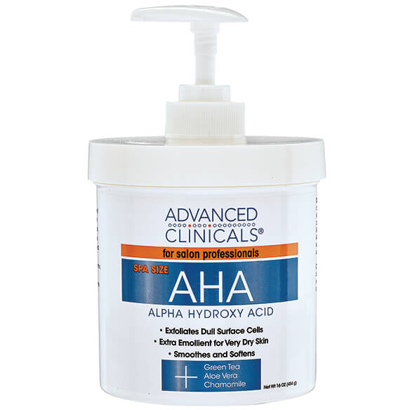 Advanced Clinicals® Alpha Hydroxy 5-in-1 Therapy Cream