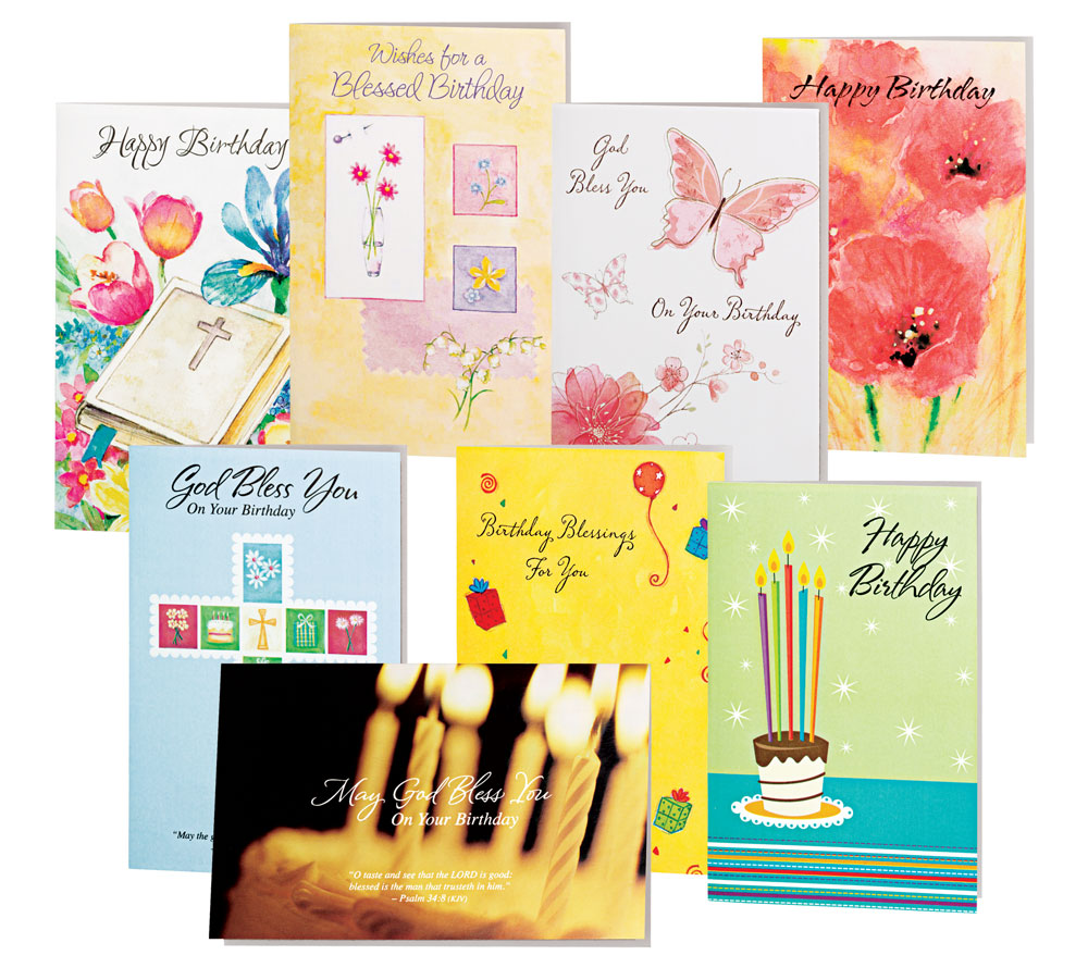 Image Is Loading Birthday Cards Value Pack Of 24