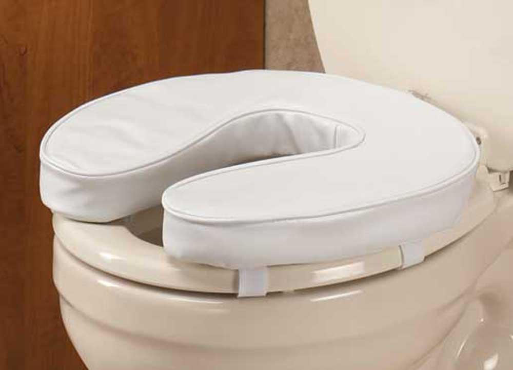 Ez Rise Cushioned Toilet Seat 2 Inch 707569081142 Ebay