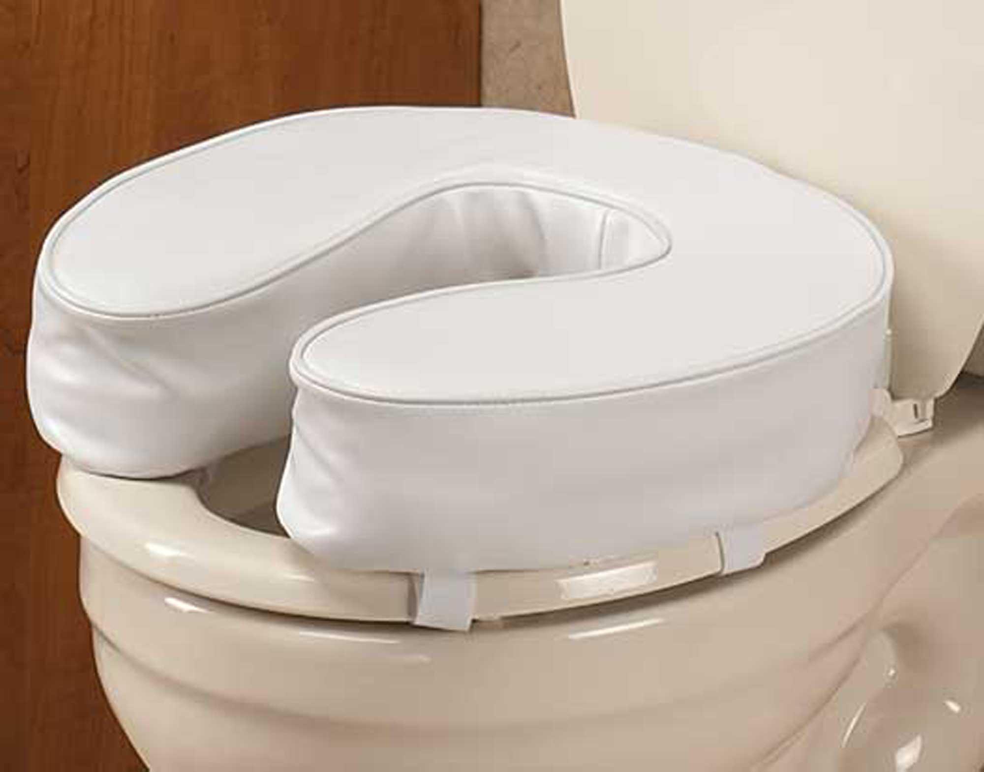 Ez Rise Cushioned Toilet Seat 4 Inch 842536176121 Ebay