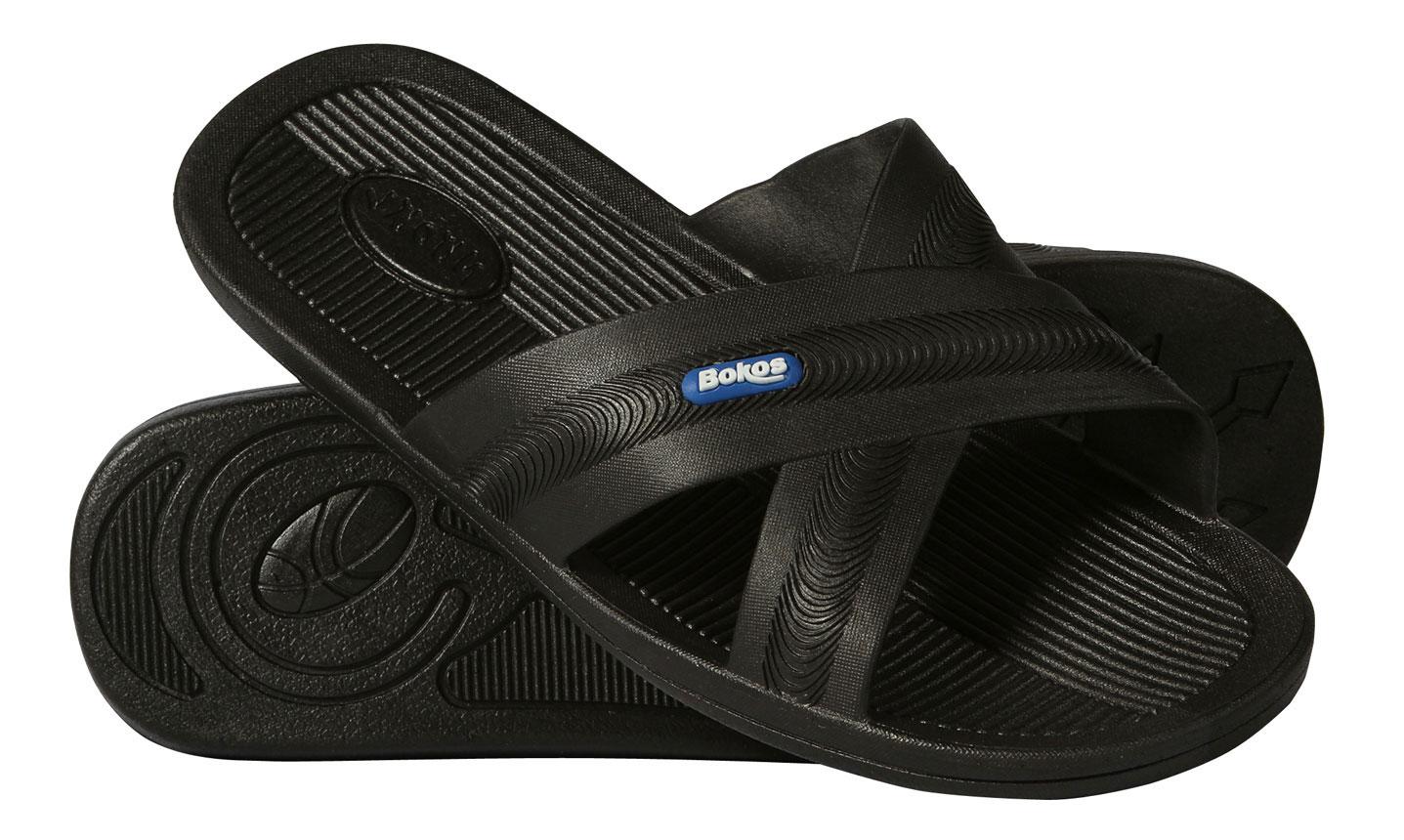 2e74e99841bc Bokos-Men-039-s-Rubber-Sandals thumbnail 3